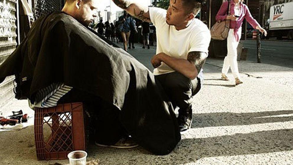 El peluquero de los indigentes
