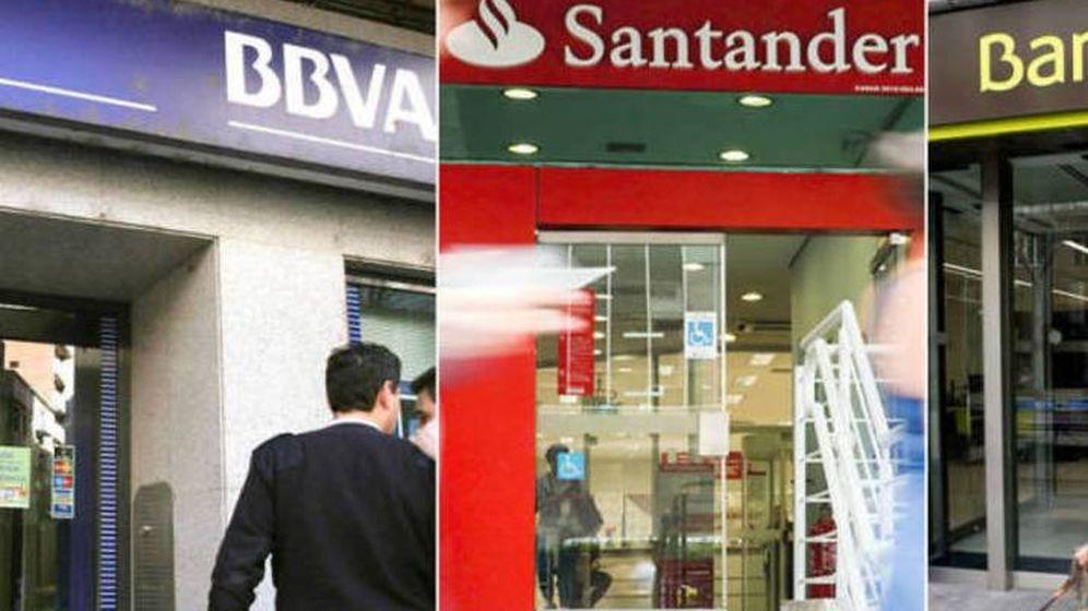 Foto: Oficinas bancarias.