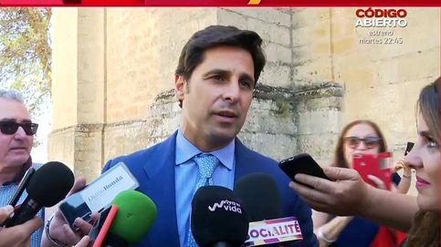 Fran Rivera evita a una reportera de Patiño por la polémica del vídeo sexual