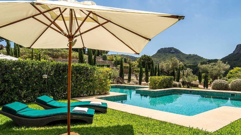 Habitación deluxe con piscina en el hotel Son Net.