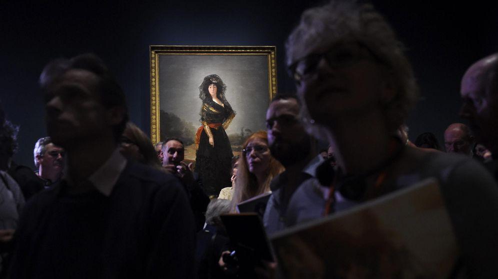 Foto: Londres se rinde ante los retratos de Goya
