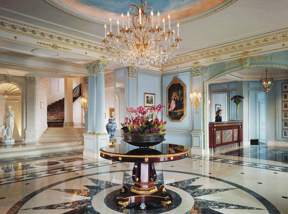 Foto: Interior del aristocrático hotel Four Seasons en Ginebra. (D.R)