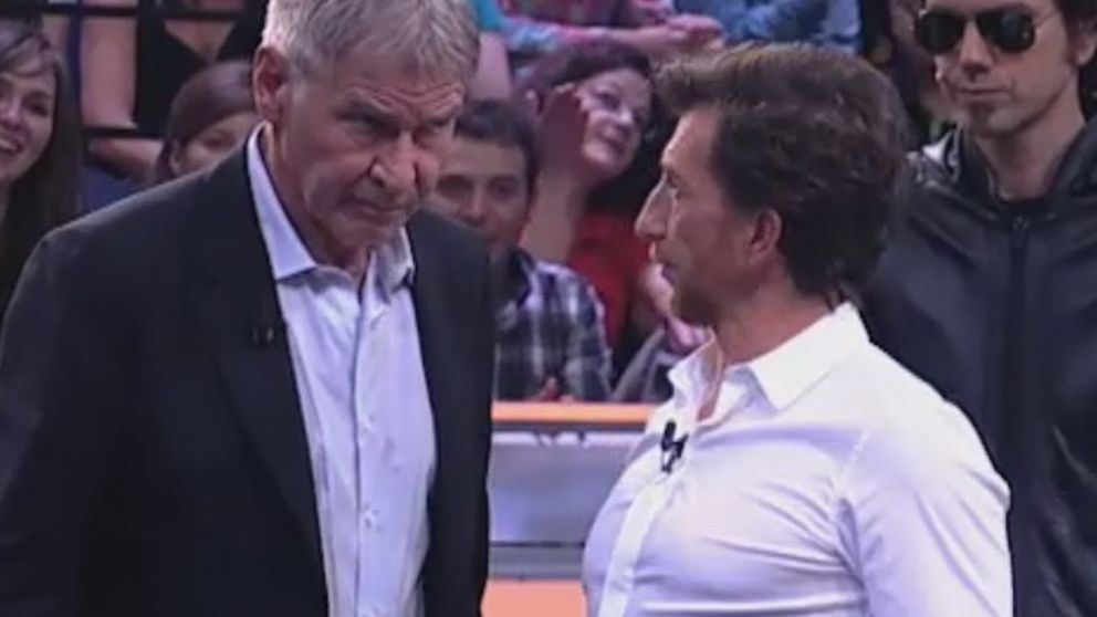 Harrison Ford, director de orquesta de 'El hormiguero'