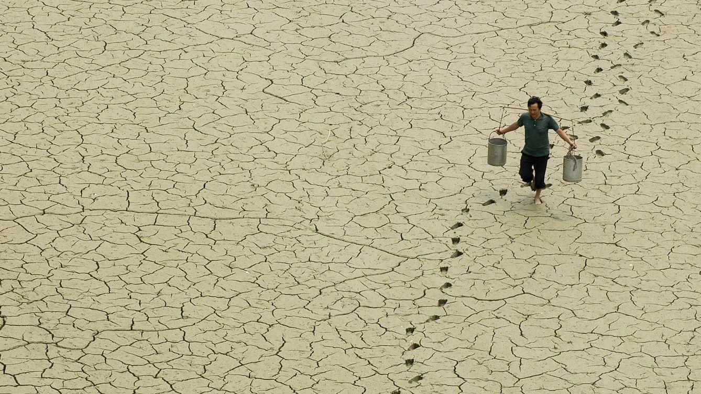 Cambio El ClimáticoLa En Huella Del Calentamiento Global Mundo N8XZnwk0OP