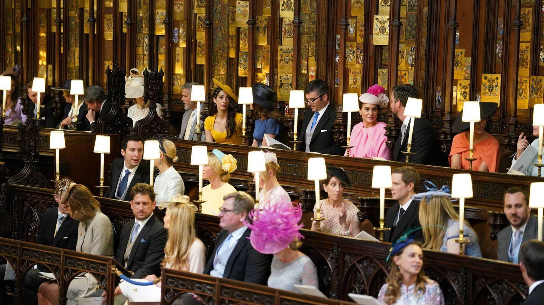 Los Clooney, entre los invitados al enlace. (Getty)