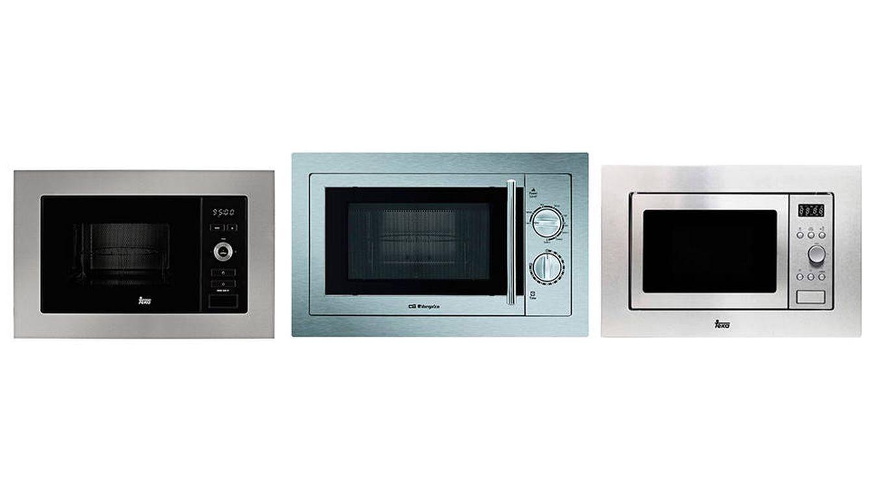 Los mejores microondas integrables para una cocina eficaz y acogedora