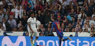 Post de ¿Por qué el Bernabéu 'enloqueció' (de alegría) con el tercer gol de Messi?