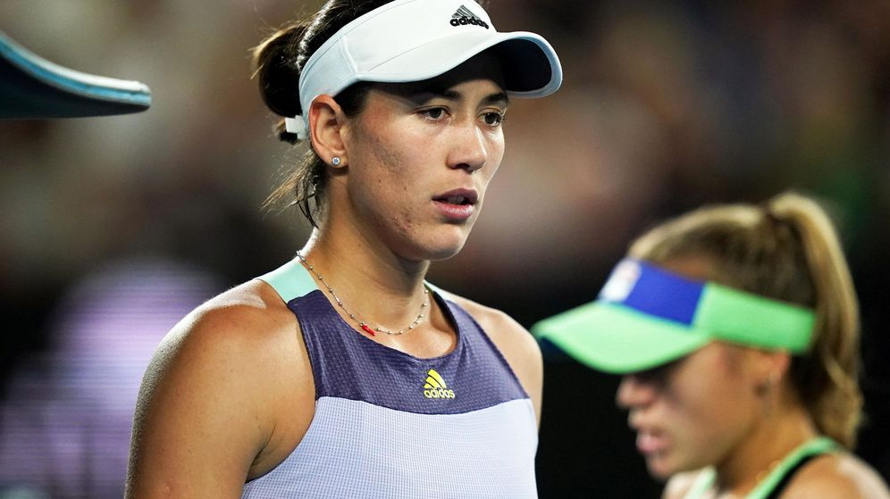 Foto: Garbiñe Muguruza, durante la final del Open de Australia. (EFE)