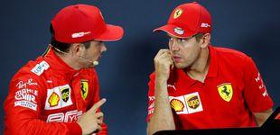 Post de La lección que Leclerc aprendió sobre Ferrari (y que Vettel le señaló en público)