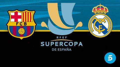 Telecinco busca ampliar su ventaja con la Supercopa de España