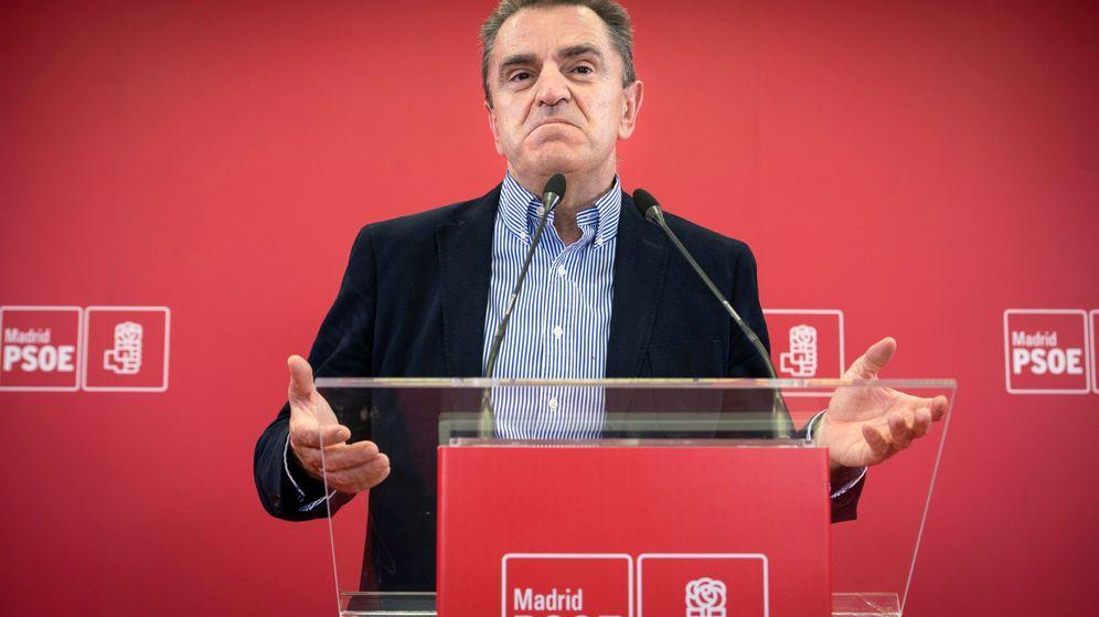 Foto: El líder de los socialistas madrileños, José Manuel Franco, en una rueda de prensa este miércoles. (EFE)
