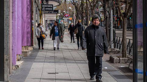 ¿Y esta calle llena de gente en Madrid? En este barrio se trampea bastante