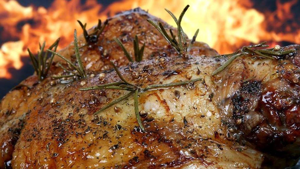 Foto: Muslos de pollo a la barbacoa. Foto: Pixabay