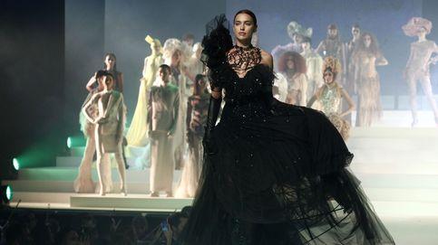 Irina Shayk desfila en París