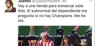 Post de Juanes, el colchonero al que 'Cristalerías Chamberí' rompió el corazón
