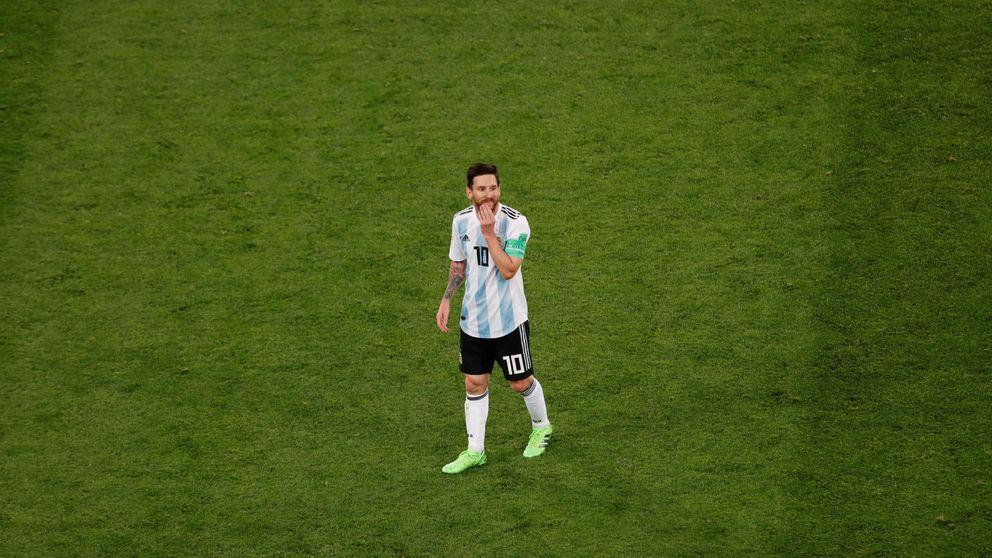 La presión le llega a Messi incluso desde el fin del mundo