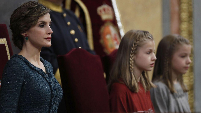Foto: La Reina durante la apertura de la legislatura (EFE)