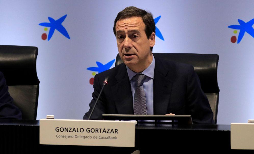 Foto: El consejero delegado de CaixaBank, Gonzalo Gortázar