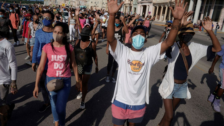 SOSCuba: así están esquivando la censura de internet en Cuba para difundir las protestas