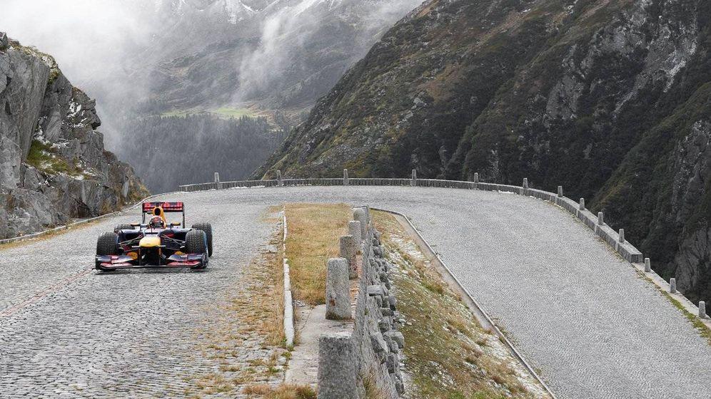 Foto: La última locura de Red Bull: un Fórmula 1 en un puerto de montaña