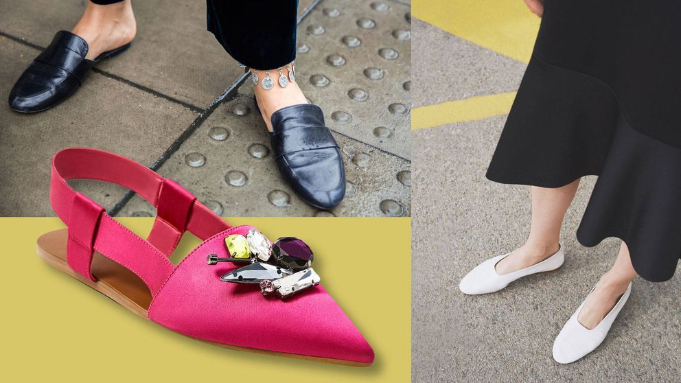 30 zapatos planos perfectos para llevar a la oficina y a todas partes