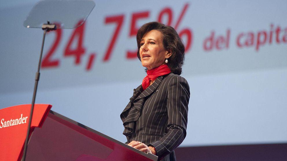 Santander estima que ganó 5.800 millones en 2014, un 30% más