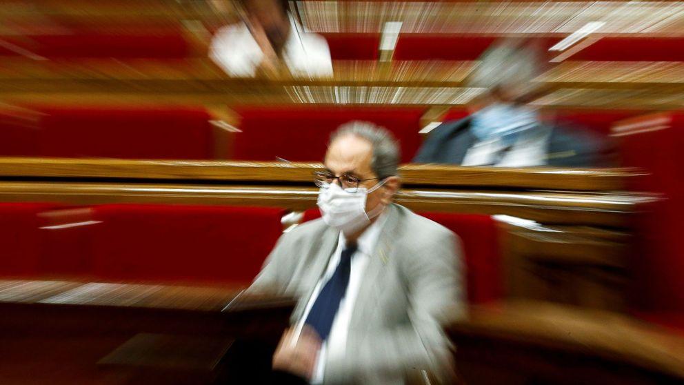 El Parlament rechaza acatar la decisión del Tribunal Supremo sobre el futuro de Torra