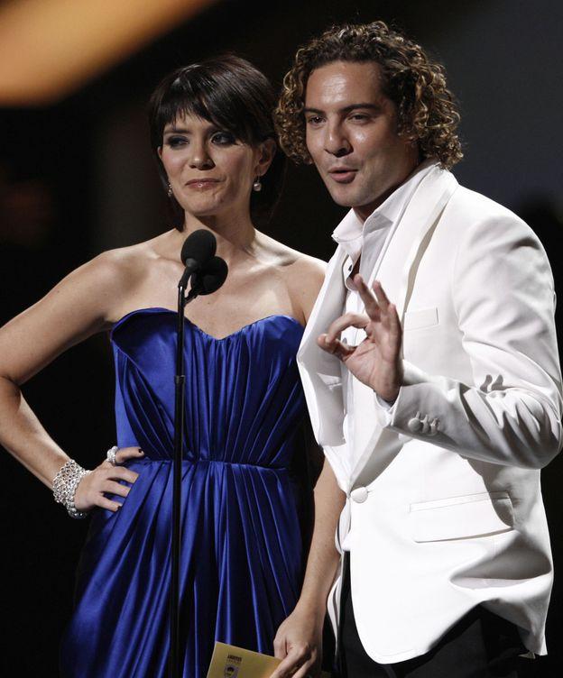 Foto: La cantante Kany García junto a David Bisbal en una imagen de archivo (Gtres)