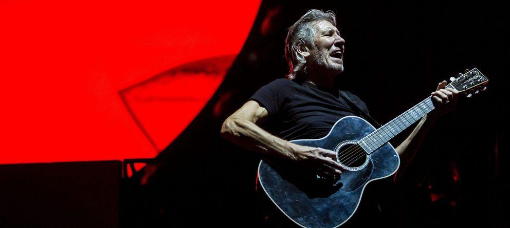 Foto: Roger waters en concierto (EFE)