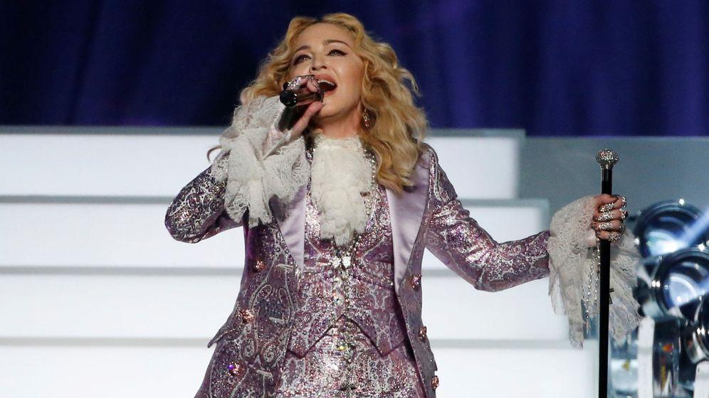 Foto: Madonna en concierto. (Reuters)