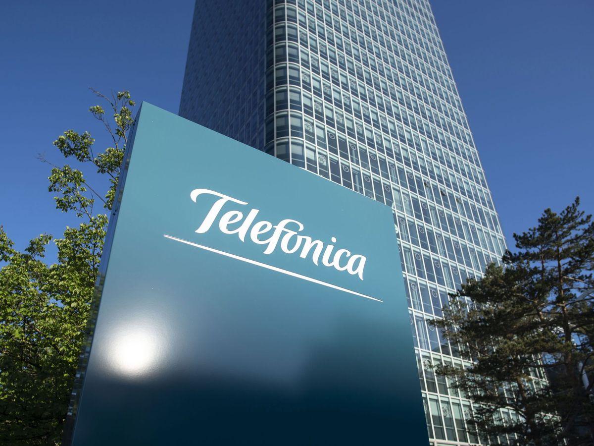 Foto: Oficinas de Telefónica en Alemania (EFE)