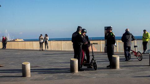 Muere el conductor de un patinete eléctrico en un accidente en el centro de Barcelona