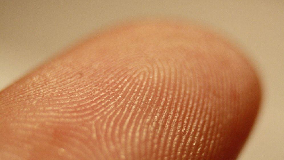 Foto: Huella digital de un dedo (CC)