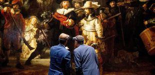 Post de Rembrandt en 'streaming': la rehabilitación de 'La ronda de noche' se emitirá por Internet