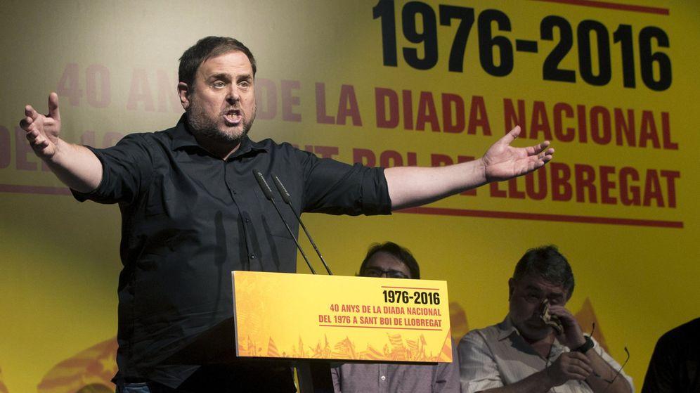 Foto: El líder de ERC, Oriol Junqueras, el mejor valorado por el electorado catalán (Efe).