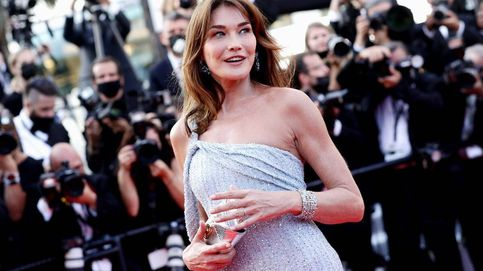 Carla Bruni deslumbra en la alfombra roja del Festival de Cannes