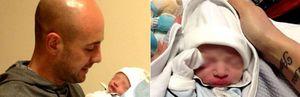 Pepe Reina presenta a Thiago, su cuarto hijo, a través de Twitter