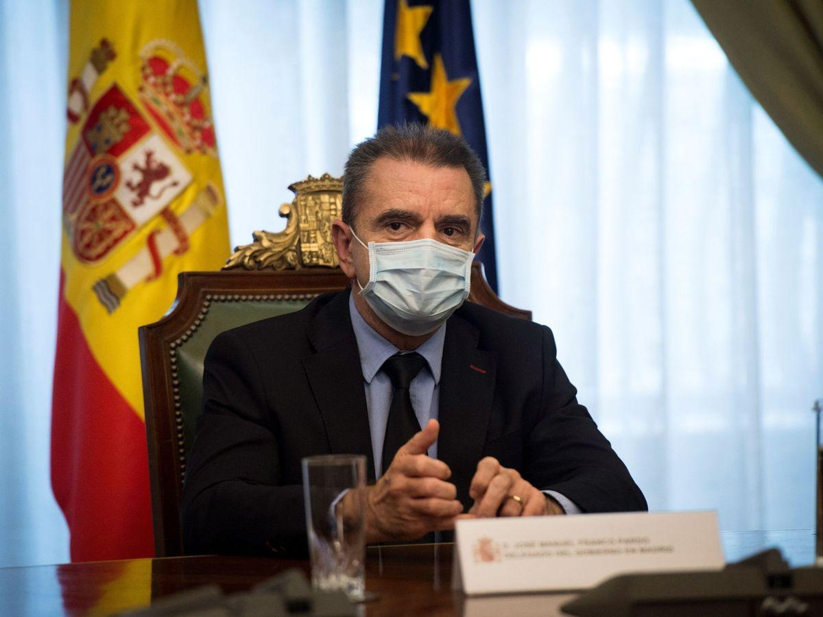 Foto: El delegado de Gobierno en Madrid, José Manuel Franco. (EFE)