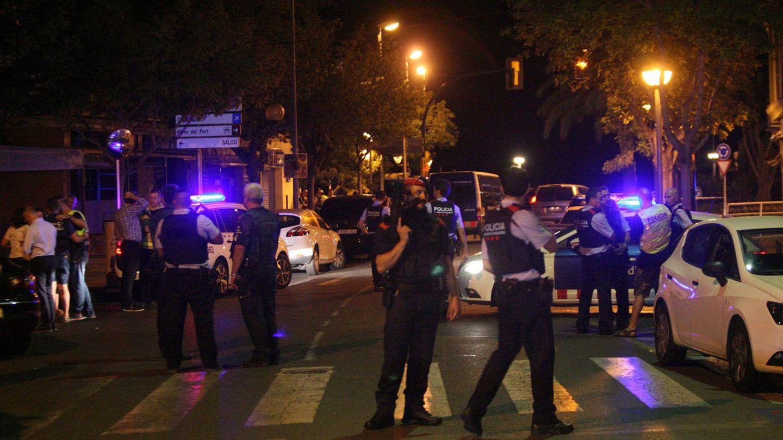Operación policial en Cambrils (EFE)