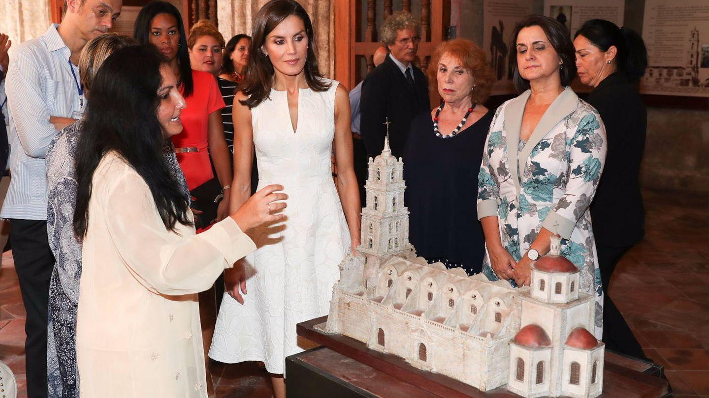 La Reina en el convento de San Francisco. (Casa Real)