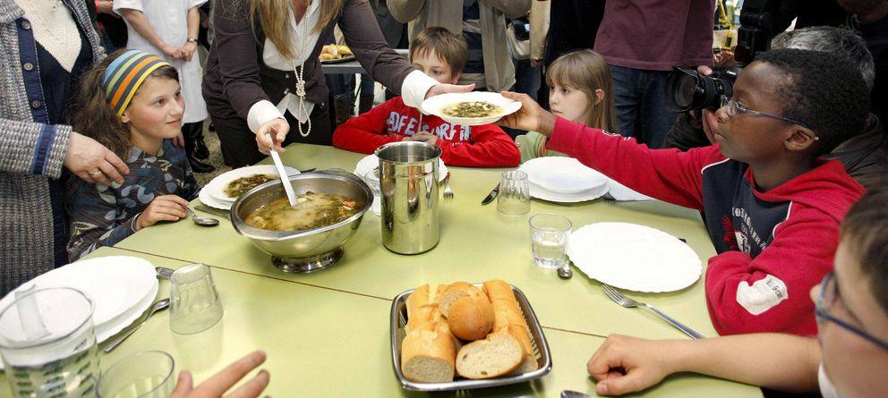 Foto: Comedor de un colegio (Efe)