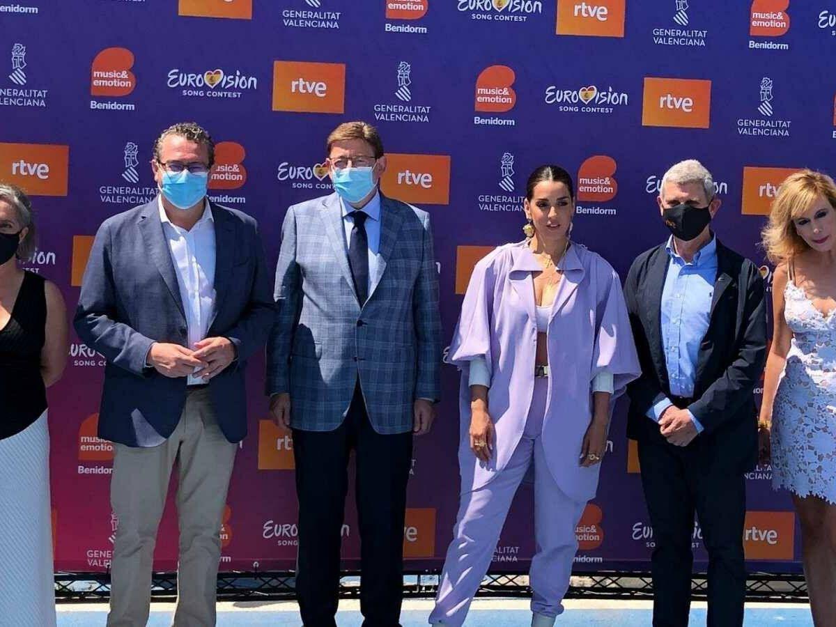 Foto: Diversas personalidades del evento de RTVE. (RTVE)