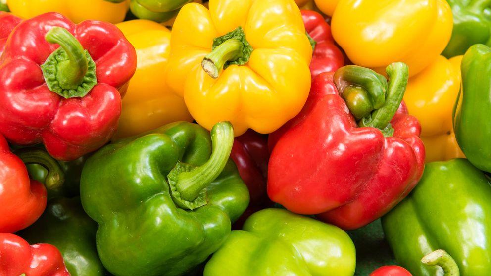 Las diferencias que hay entre los pimientos rojos, verdes y amarillos