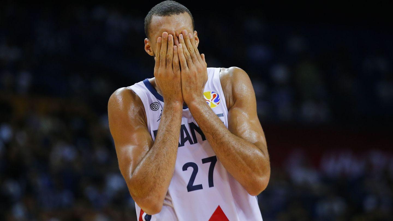 Rudy Gobert, en el mundial de baloncesto de 2019. (EFE)