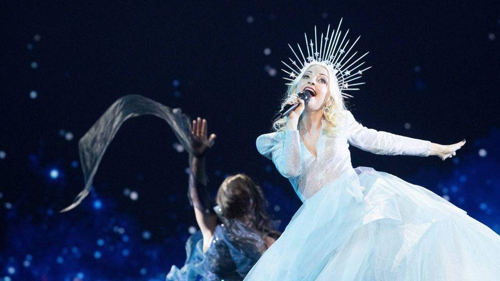 Foto: Kate Miller-Heidke, representante de Australia, en 'Eurovisión 2019'. (RTVE)