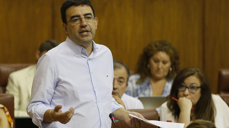 Foto: Mario Jiménez, durante una intervención en el Parlamento andaluz el pasado 8 de septiembre. (EFE)