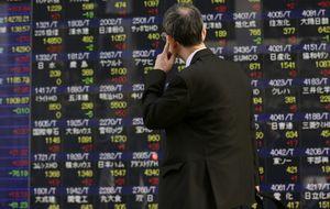 El Nikkei registra la mayor subida en dos meses por  la caída del yen