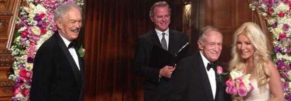 Foto: El magnate de Playboy se casa por tercera vez