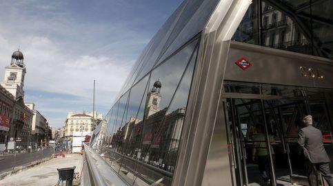 Desalojada la estación de Sol en Madrid por humo en un ascensor