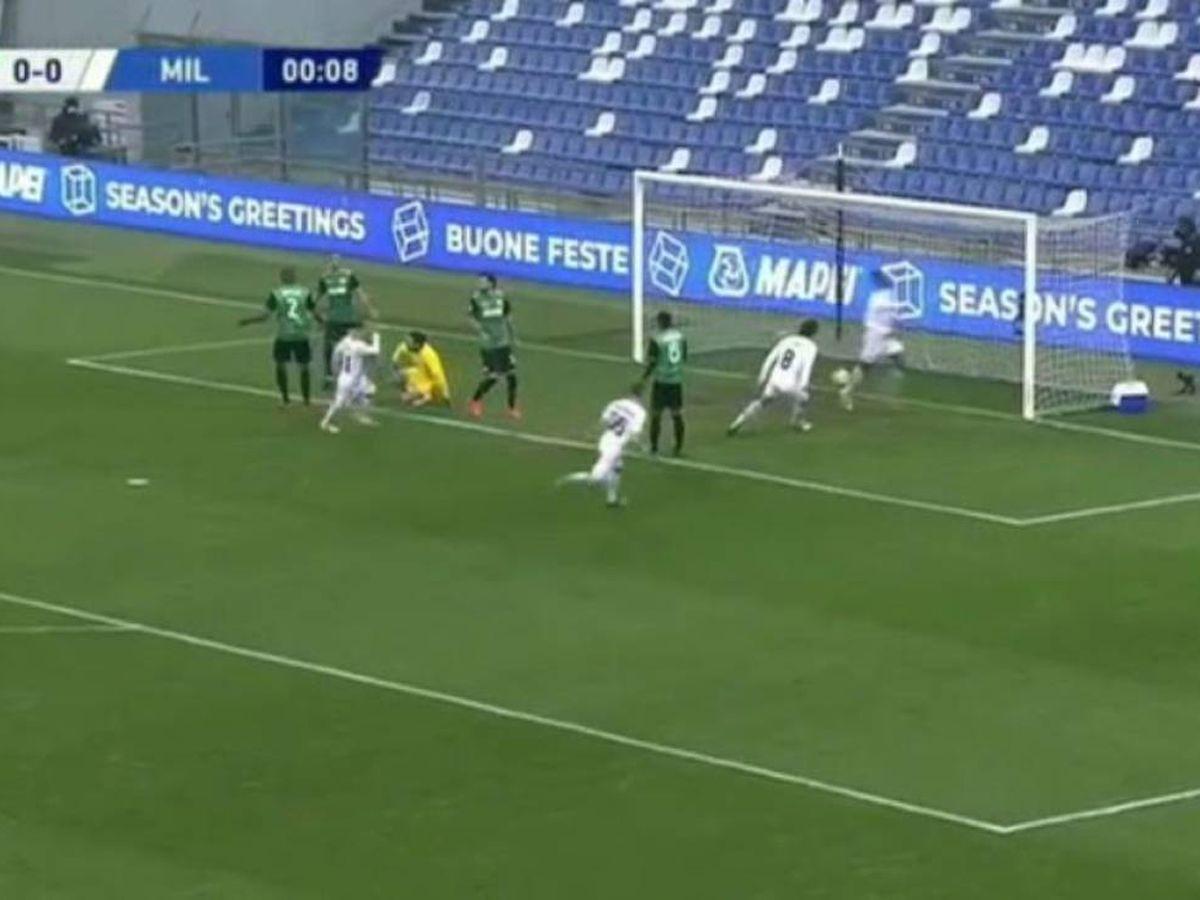 Foto: El gol más rápido de la historia en Italia / Twitter